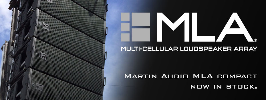 Martin Audio MLA Compact now in stock